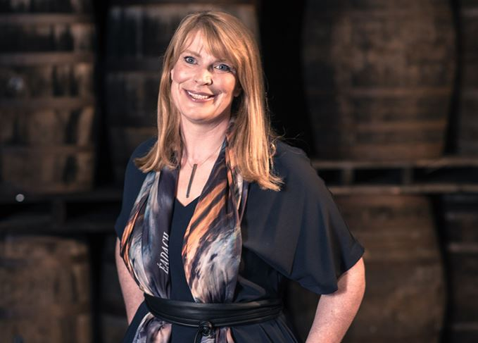 Bushmills' whiskey master blender Helen Mulholland