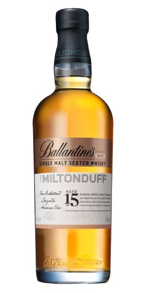 Miltonduff 15 Years Old 'Ballantine's'