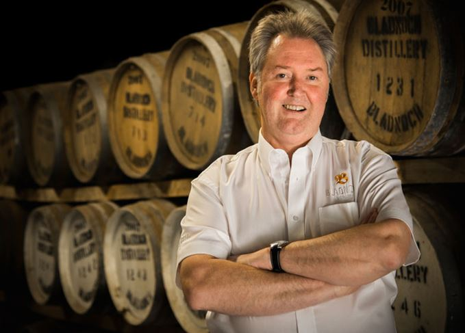 Ian MacMillan, Bladnoch master blender and distiller