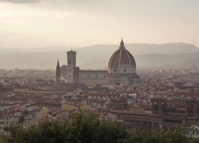 The Florence skyline