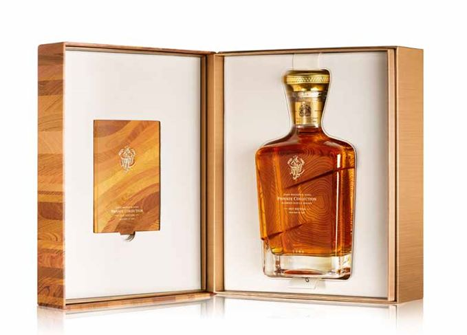 john walker private collection 2017 unveiled scotch whisky. Black Bedroom Furniture Sets. Home Design Ideas