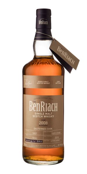 BenRiach 10 Years Old, 2008, Cask #5807