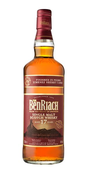 BenRiach 17 Years Old Pedro Ximénez Finish