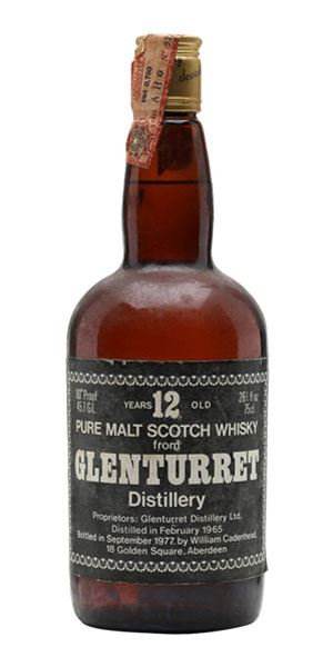 Glenturret 12 Years Old, Bottled 1977 (Cadenhead)