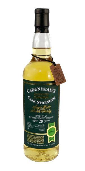 Aultmore-Glenlivet 20 Years Old, 1997 (Cadenhead)