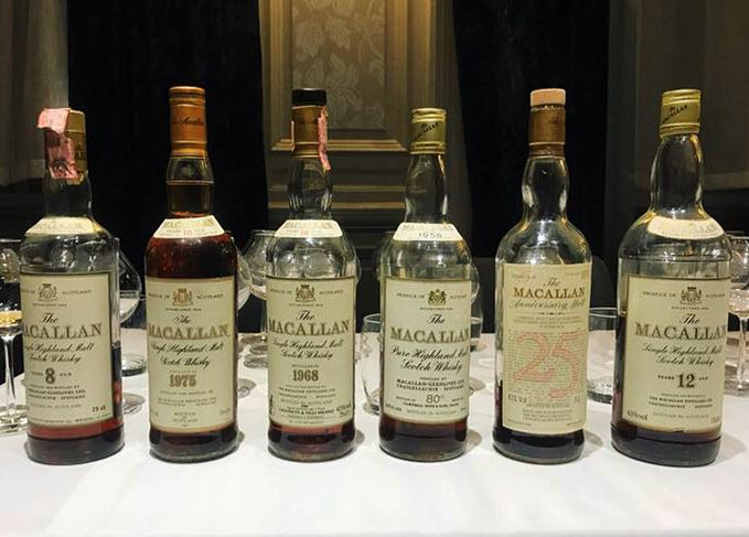 Whisky Show Old and Rare Macallan tasting