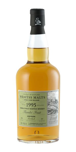 Mortlach 1995 'Flambé Fruit' (Wemyss Malts)