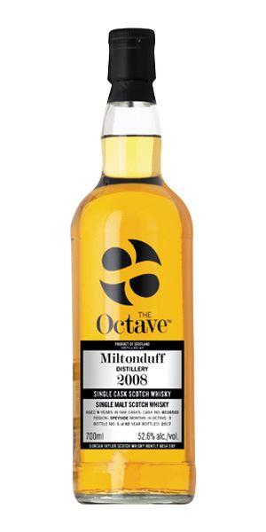 Miltonduff The Octave, 2008 (Duncan Taylor)