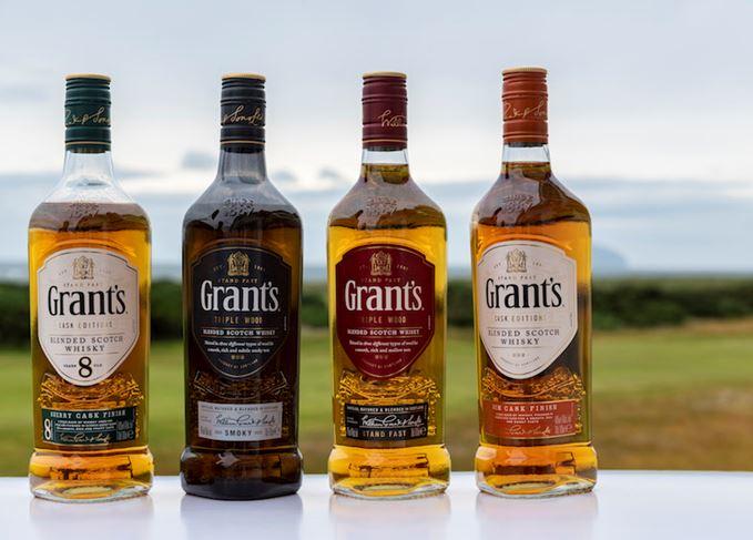 Grant's new blended Scotch range