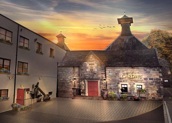 Cardhu distillery renovation design