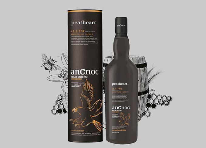 AnCnoc Peatheart smokiest whisky