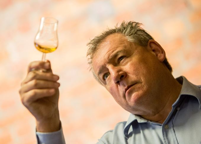 Andy Watts whisky glass