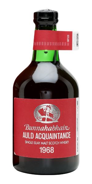 Bunnahabhain Auld Acquaintance, 1968 (bottled 2002)