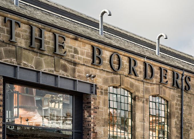 Borders whisky distillery