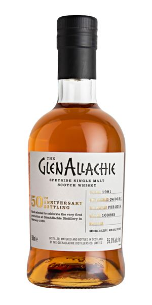 GlenAllachie 1991, 26 Years Old, Cask #100285