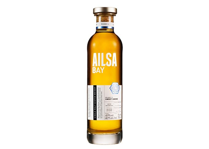 Ailsa Bay blockchain technology travel retail exclusive whisky