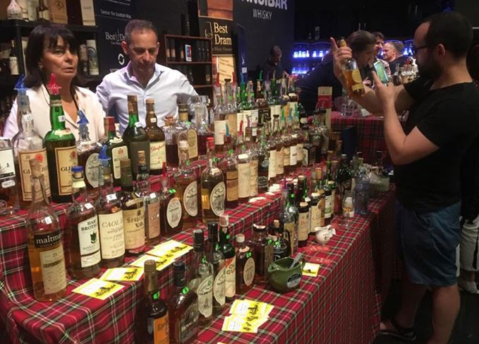 Limburg whisky fair stand