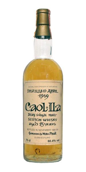 Caol Ila 15 Years Old, Bottled 1984 (Gordon & MacPhail)