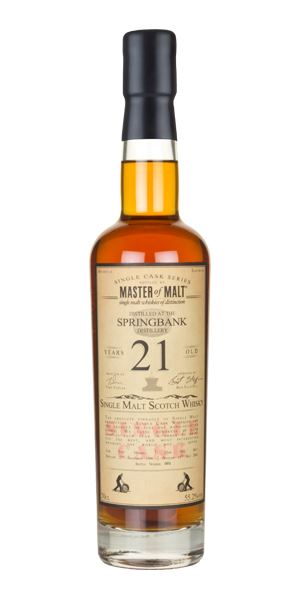 Springbank 21 Years Old, 1996, Single Cask (Master of Malt)