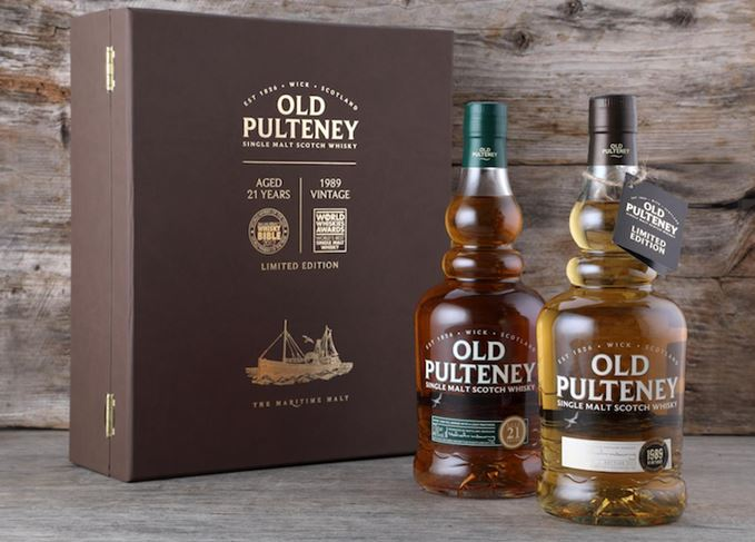 Old Pulteney 21 Year Old and 1989 Vintage