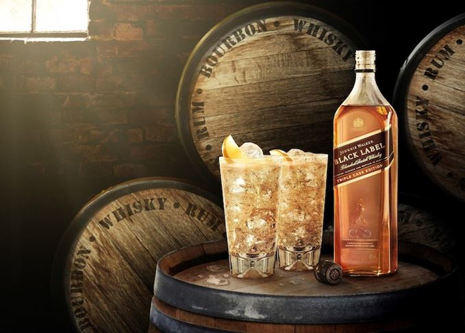 Johnnie Walker Black Label Triple Cask Edition coconut spritz