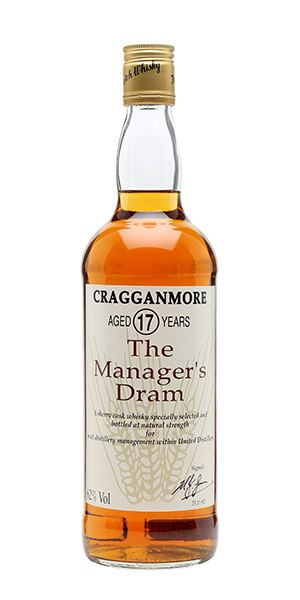 Cragganmore 17 Years Old 'Manager's Dram'