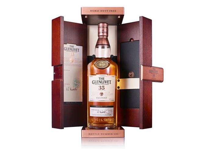 The Glenlivet 35 Year Old Dubai Duty Free 35th anniversary