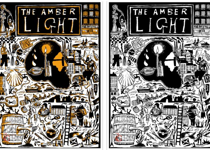 The Amber Light artwork