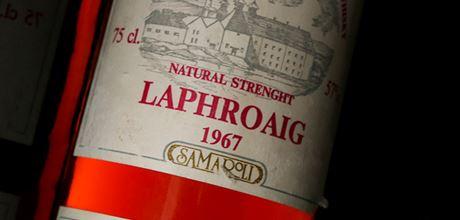 Laphroaig 1967 Samaroli