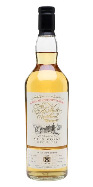 Glen Moray 2007 (8 Years Old, Single Malts of Scotland)