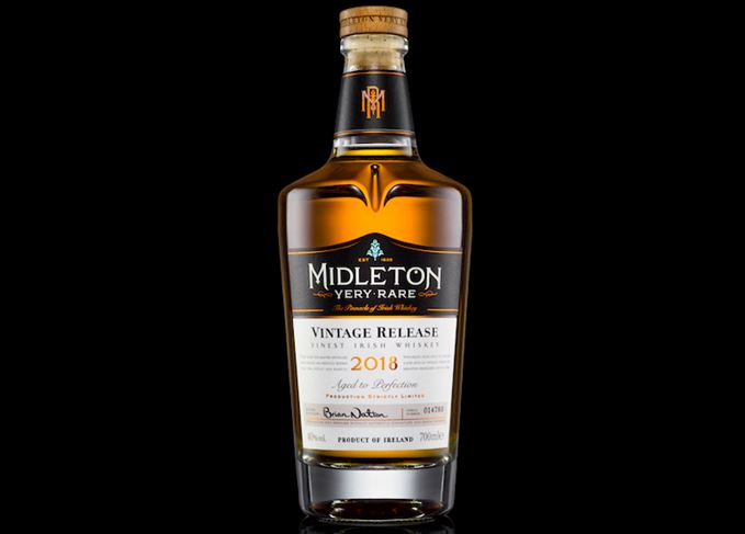 Midleton Very Rare 2018 bottle