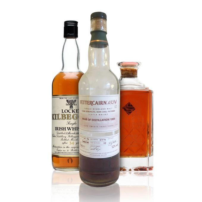 Rare whisky reviews including Aberlour-Glenlivet, Fettercairn and Kilbeggan by Locke's
