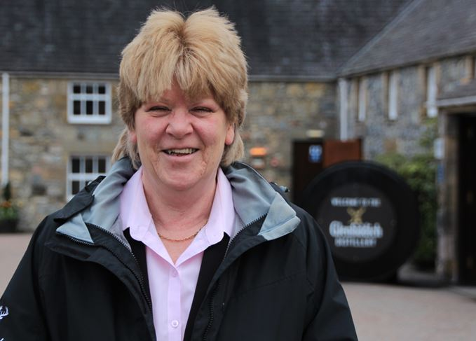 Sue Wiles senior tour guide at Glenfiddich