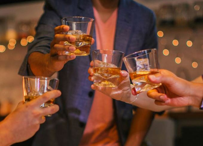 Toasting Thanksgiving with whisky