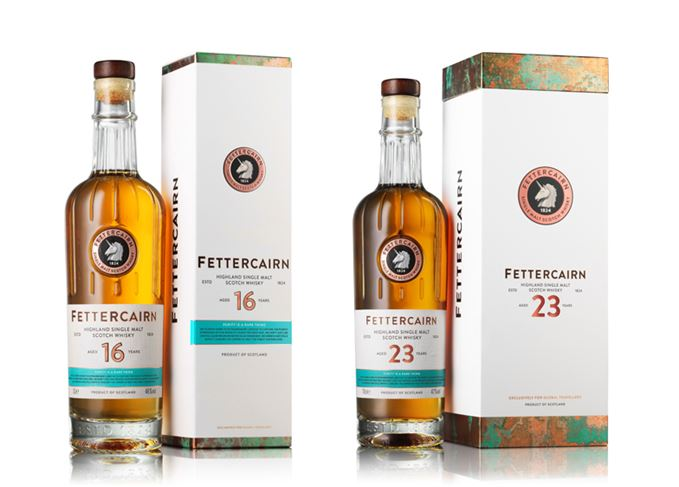 Fettercairn 16 and 23 Year Old single malts