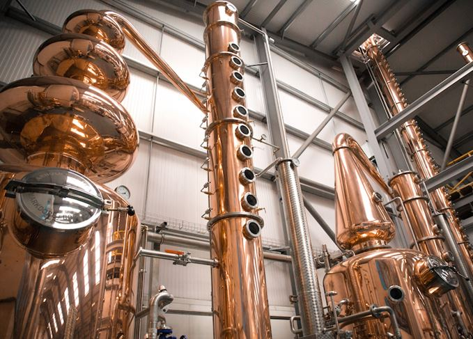 Lone Wolf distillery