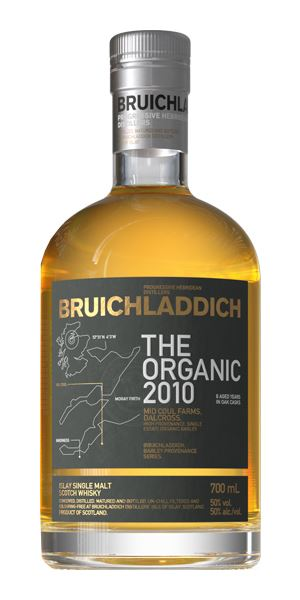 Bruichladdich The Organic 8 Years Old, Distilled 2010