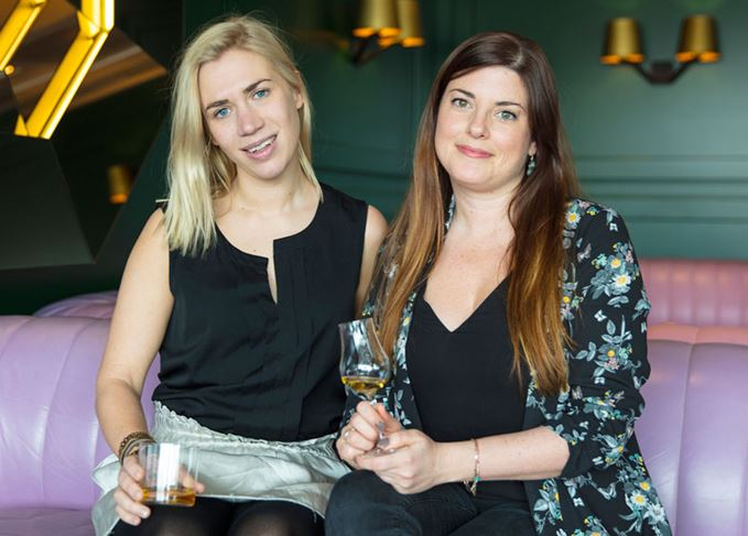 Georgie Bell and Becky Paskin of OurWhisky