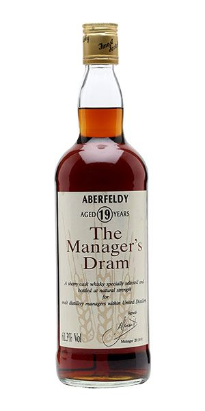 Aberfeldy 19 Years Old The Manager's Dram