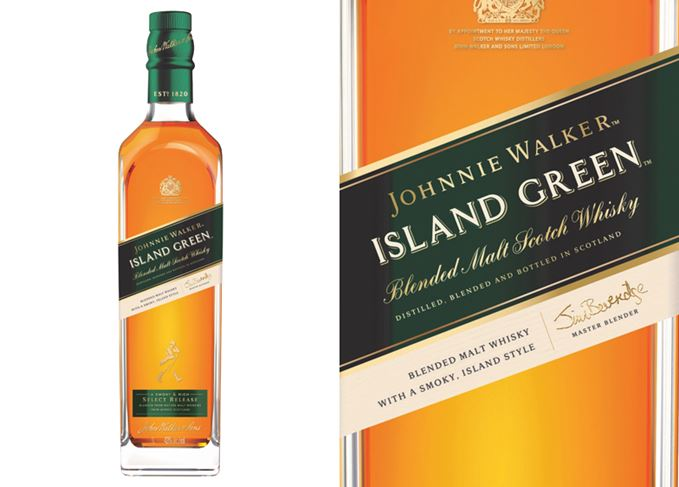 Johnnie Walker Island Green