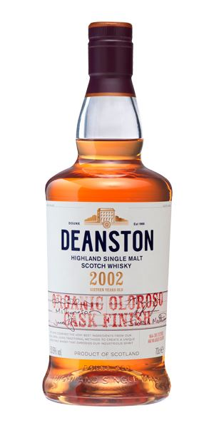 Deanston 2002, Organic Oloroso