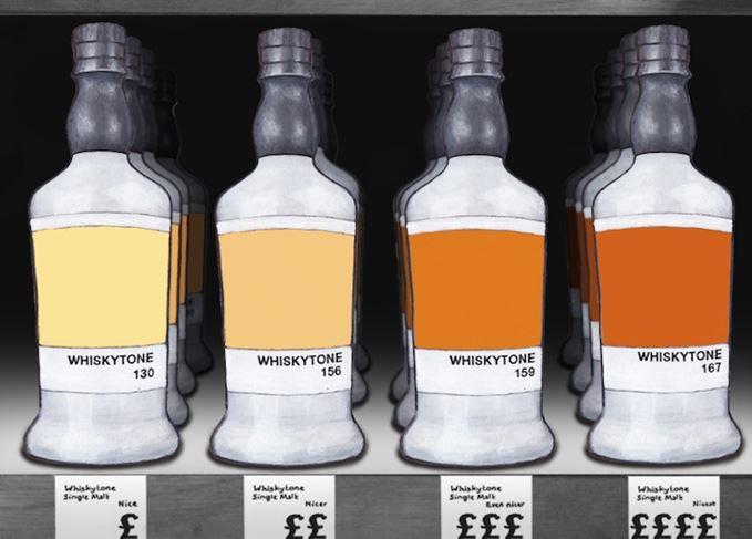 Macallan's 'colours' range