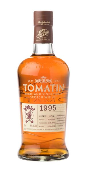 Tomatin 21 Years Old, 1995, Oloroso Sherry Cask