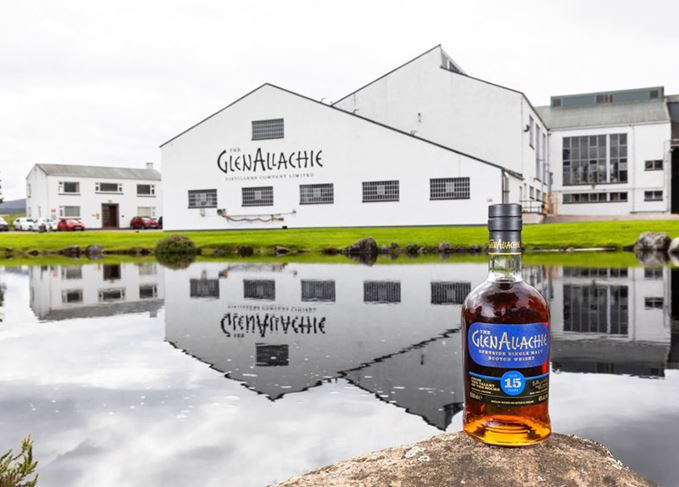 GlenAllachie 15 Year Old and distillery