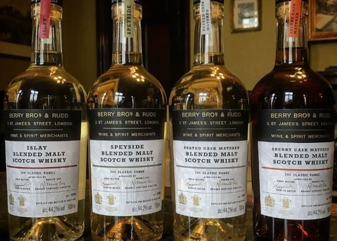 Berry Bros & Rudd Classic Range blended malts