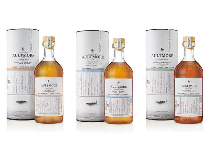 Aultmore 22-year-old finished in Super Tuscan, Châteauneuf-du-Pape and Moscatel casks