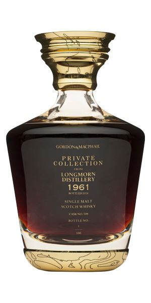Longmorn 1961 Private Collection, Cask #508 (Gordon & MacPhail)