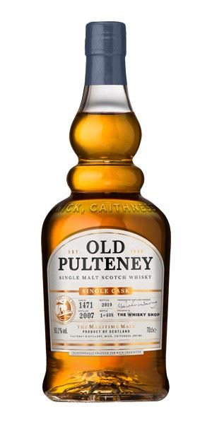 Old Pulteney 12 Years Old, Distilled 2007, Single Cask #1471