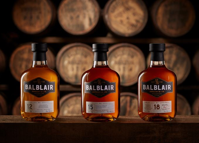 Balblair new whisky range