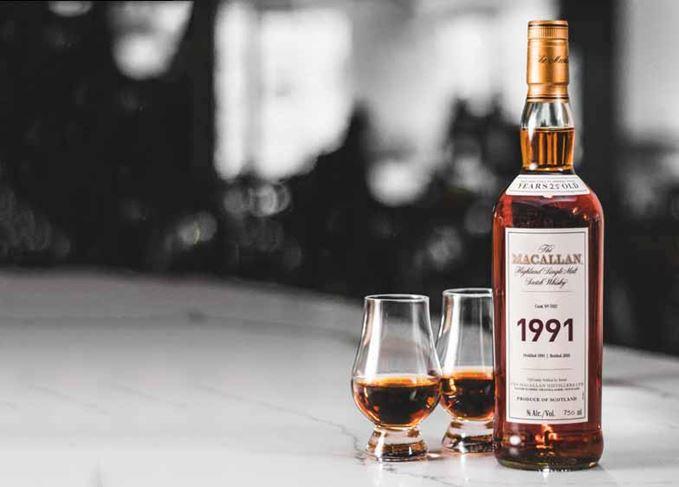 Macallan 1991 Fine & Rare